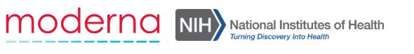 Vacina para covid-19 Moderna National Institutes of Health
